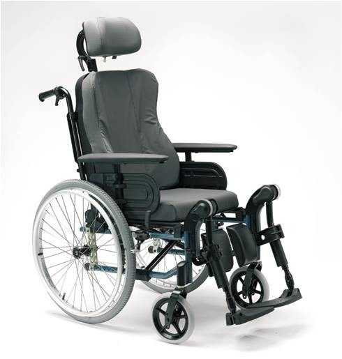 Silla de Ruedas Reclinable ACTION 3 NG CONFORT